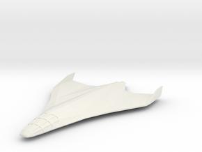 Eclipse-Class Shuttle in White Natural Versatile Plastic