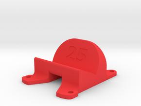 Emax Nighthawk 200 Pro 25° Action Cam Mount in Red Processed Versatile Plastic