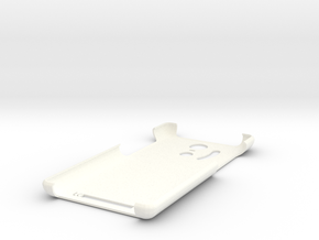Redmi Note 3 Smiley Cover in White Processed Versatile Plastic