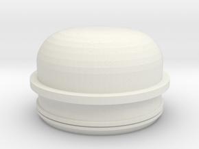 Strut Mount Bearing Cap Extended VW 113-412-359-B in White Natural Versatile Plastic
