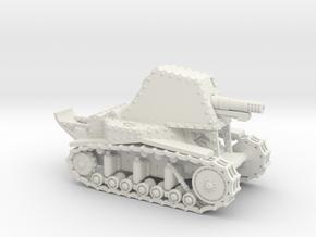 SU-18 (15mm) in White Natural Versatile Plastic