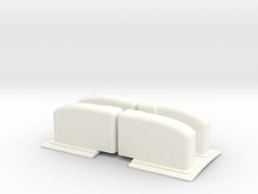 1.8 FLARES SUPER PUMA (A/C) in White Processed Versatile Plastic