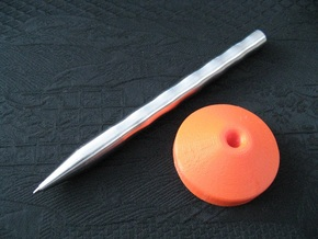 Stand: Pen Lux in Orange Strong & Flexible Polished