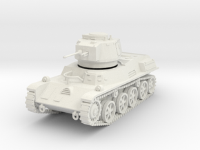 PV122A 38M Toldi I Light Tank (28mm) in White Natural Versatile Plastic