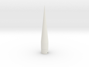 Classic estes-style 'falcon' cone PNC-50SP replace in White Strong & Flexible