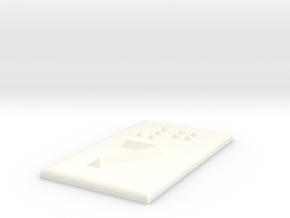 7 (Sieben) in White Processed Versatile Plastic