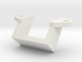 Sup-cale2roue in White Natural Versatile Plastic