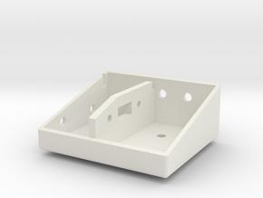 Coffre-batterie-1/4 in White Natural Versatile Plastic