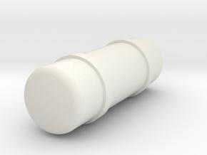 Air in White Natural Versatile Plastic