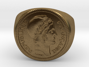 10 Francs 1949  in Natural Bronze