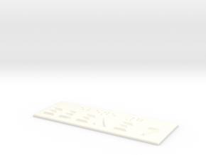 EBENE 7 in White Processed Versatile Plastic