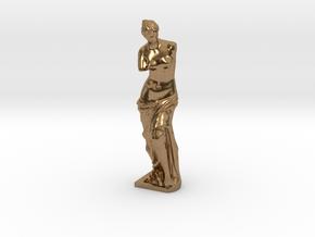 Venus de Milo in Natural Brass