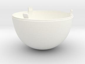 "CAP (Optional) to the ""Bomb Lamp"" in White Processed Versatile Plastic"