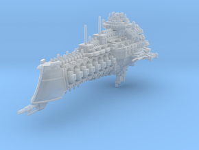 Dominator class cruiser in Smooth Fine Detail Plastic