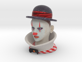 Weimar Clown 1929 - Color in Full Color Sandstone
