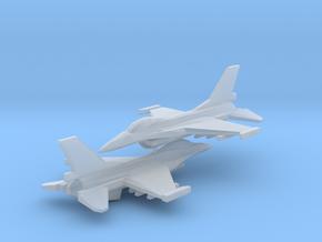 1/350 F-16C Viper (x2) in Smooth Fine Detail Plastic
