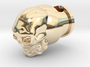 Marlin 336/444 Skull Magazine Tube Plug (sphere) in 14K Yellow Gold