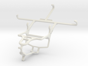 Controller mount for PS4 & BLU Energy X Plus in White Natural Versatile Plastic