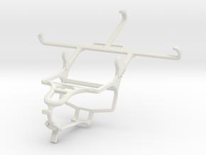 Controller mount for PS4 & Gigabyte GSmart Guru (W in White Natural Versatile Plastic
