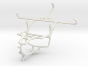 Controller mount for PS4 & Gigabyte GSmart Mika MX in White Natural Versatile Plastic