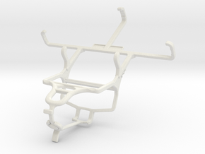 Controller mount for PS4 & Kyocera DuraForce in White Natural Versatile Plastic
