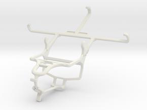 Controller mount for PS4 & Meizu MX4 Pro in White Natural Versatile Plastic