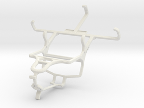 Controller mount for PS4 & Micromax A47 Bolt in White Natural Versatile Plastic