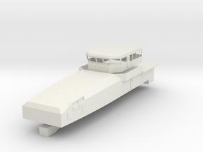 1/72 scale Armidale-class patrol boat - Full Struc in White Natural Versatile Plastic
