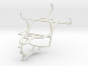 Controller mount for PS4 & NIU Niutek 3.5D in White Natural Versatile Plastic
