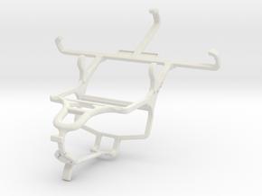 Controller mount for PS4 & Oppo Joy Plus in White Natural Versatile Plastic