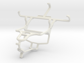 Controller mount for PS4 & Plum Sync 3.5 in White Natural Versatile Plastic