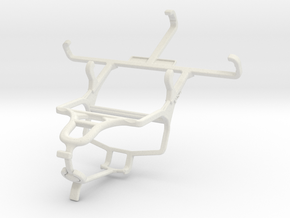 Controller mount for PS4 & Samsung Galaxy Ace Styl in White Natural Versatile Plastic