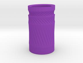 Simple cup 2 in Purple Processed Versatile Plastic