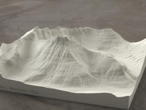 6'' Mt. Wilbur, Montana, USA, Sandstone in Natural Sandstone