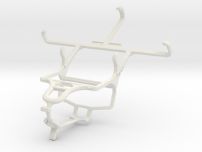 Controller mount for PS4 & Sony Xperia E4g Dual in White Natural Versatile Plastic