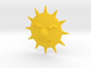 Mischevious Sun in Yellow Processed Versatile Plastic