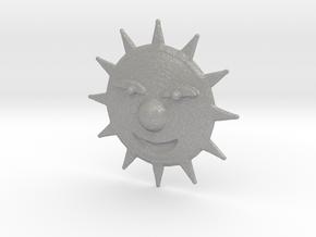 Mischevious Sun in Aluminum