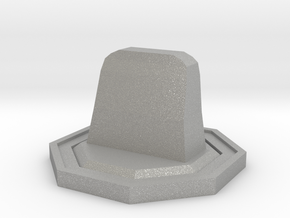 Tombstone Token in Aluminum