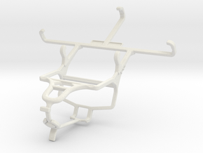 Controller mount for PS4 & verykool s4510 Luna in White Natural Versatile Plastic