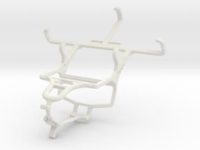 Controller mount for PS4 & Vodafone Smart 4 mini in White Natural Versatile Plastic