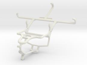 Controller mount for PS4 & Vodafone Smart prime 6 in White Natural Versatile Plastic