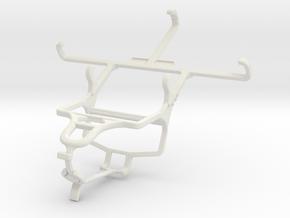 Controller mount for PS4 & Xiaomi Hongmi 1S in White Natural Versatile Plastic