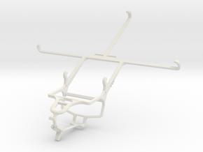 Controller mount for PS4 & Xiaomi Mi Pad 7.9 in White Natural Versatile Plastic