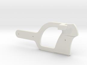 Webley Flaregun D-Bracket in White Natural Versatile Plastic