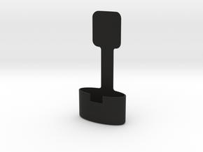 Halter für Handsender HS4-868-BS, Hörmann in Black Natural Versatile Plastic