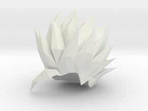 Custom Teen Gohan SSj2 Inspired MINIMATE in White Natural Versatile Plastic
