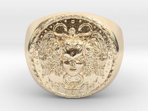Médusa in 14K Yellow Gold
