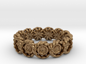 Ring 16.9mm in Natural Brass
