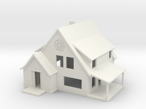 Sears Cedars House - Zscale in White Strong & Flexible