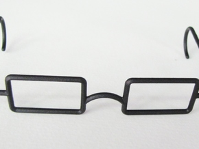 "Mrs. Beasley Glasses for 21"" Doll in Black Natural Versatile Plastic"